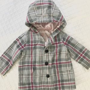 Old navy baby girl 12-18 month pea coat